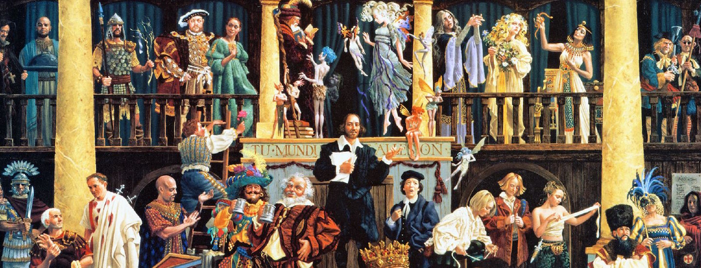 A painting of Shakespeare plays | Tracy Lee/Flickr